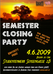 Semester Closing Party